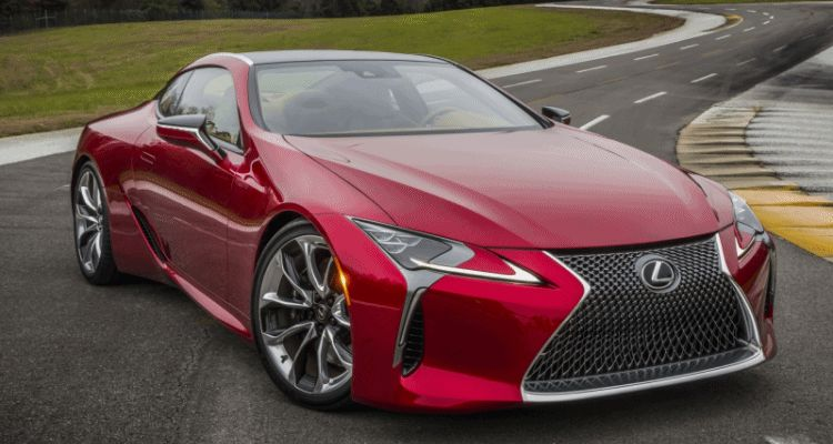 LC500 black grille