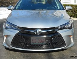 Road Test Review – 2016 Toyota Camry XSE