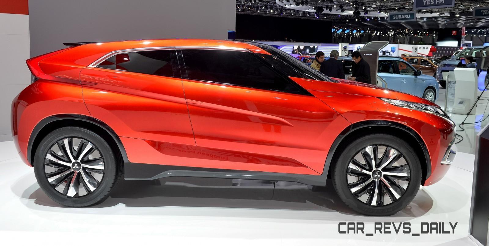 Latest Mitsubishi Exterior Designs Are Bizarre and Alarming 10