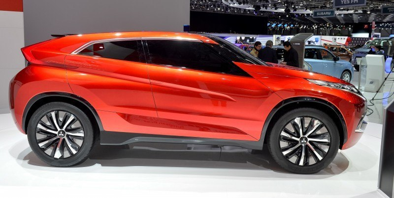 Latest Mitsubishi Exterior Designs Are Bizarre and Alarming 10