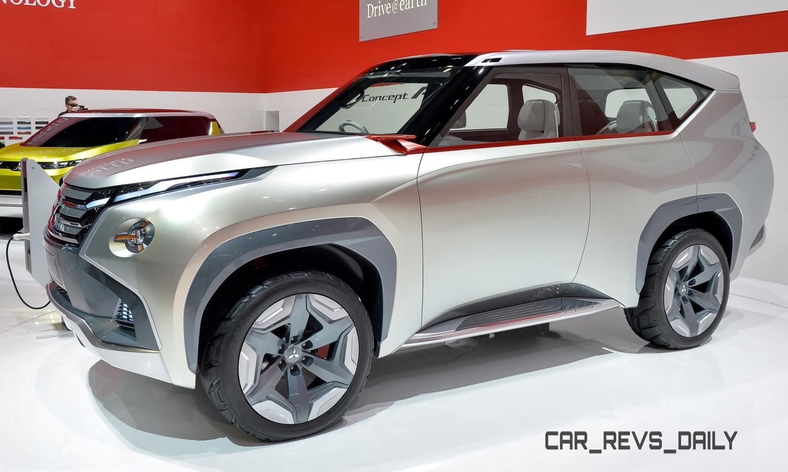 Latest Mitsubishi Exterior Designs Are Bizarre and Alarming 2