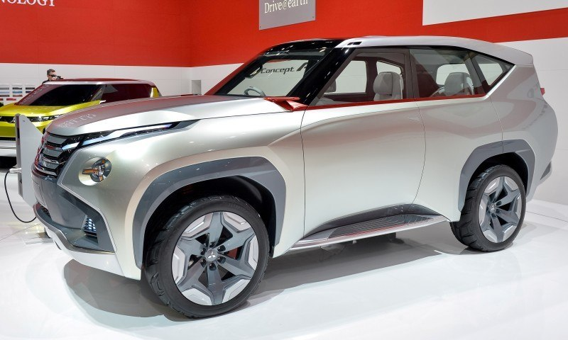 Latest Mitsubishi Exterior Designs Are Bizarre and Alarming 2
