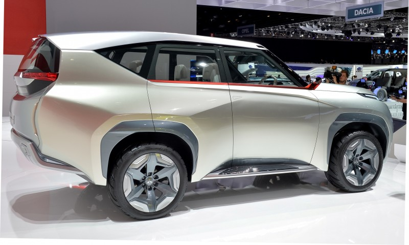 Latest Mitsubishi Exterior Designs Are Bizarre and Alarming 4