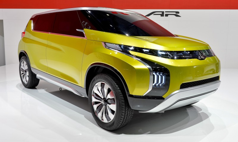 Latest Mitsubishi Exterior Designs Are Bizarre and Alarming 5