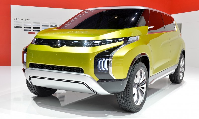 Latest Mitsubishi Exterior Designs Are Bizarre and Alarming 6