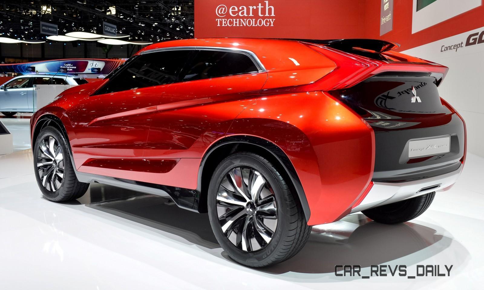 Latest Mitsubishi Exterior Designs Are Bizarre and Alarming 9
