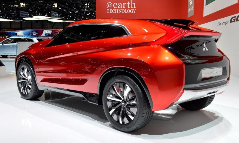 Latest Mitsubishi Exterior Designs Are Bizarre and Alarming 9