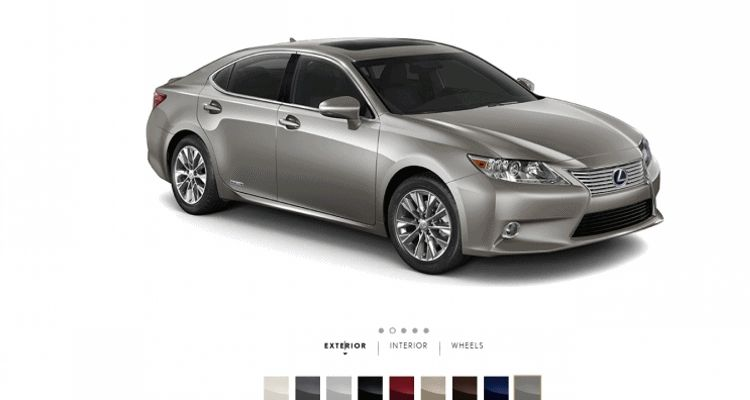 Lexus ES300h gif1