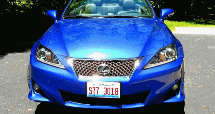 Lexus IS250C F Sport header GIF1