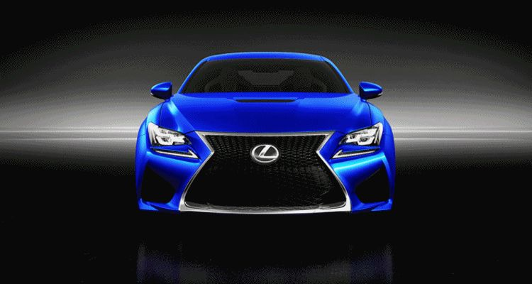 Lexus RC-F Animation1
