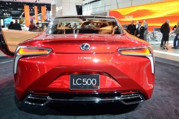 Best of NAIAS - 2017 Lexus LC500 World Debut! ~$88k 911-Fighter Also Stalking Corvette, SL63 AMG