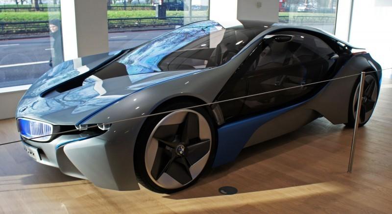 BMW i8 plug-in hybrid concept