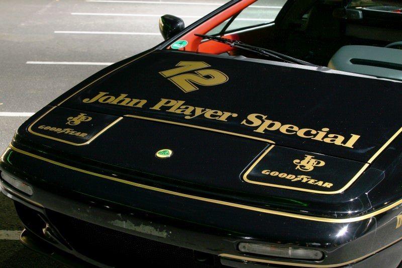 Lotus Esprit in Ayrton Senna JPS Livery by CAMSHAFT 10