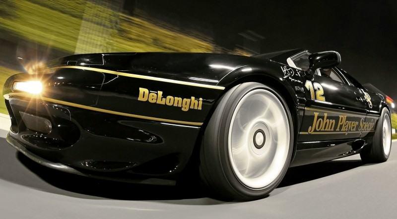 Lotus Esprit in Ayrton Senna JPS Livery by CAMSHAFT 4