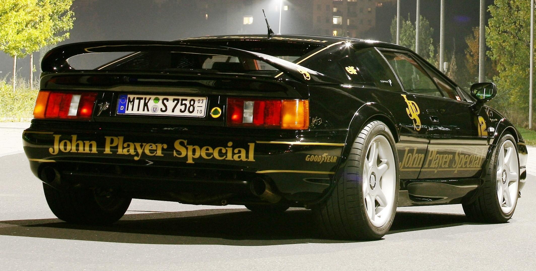 Lotus Esprit in Ayrton Senna JPS Livery by CAMSHAFT 5