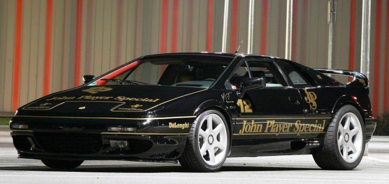 Lotus Esprit in Ayrton Senna JPS Livery by CAMSHAFT 6