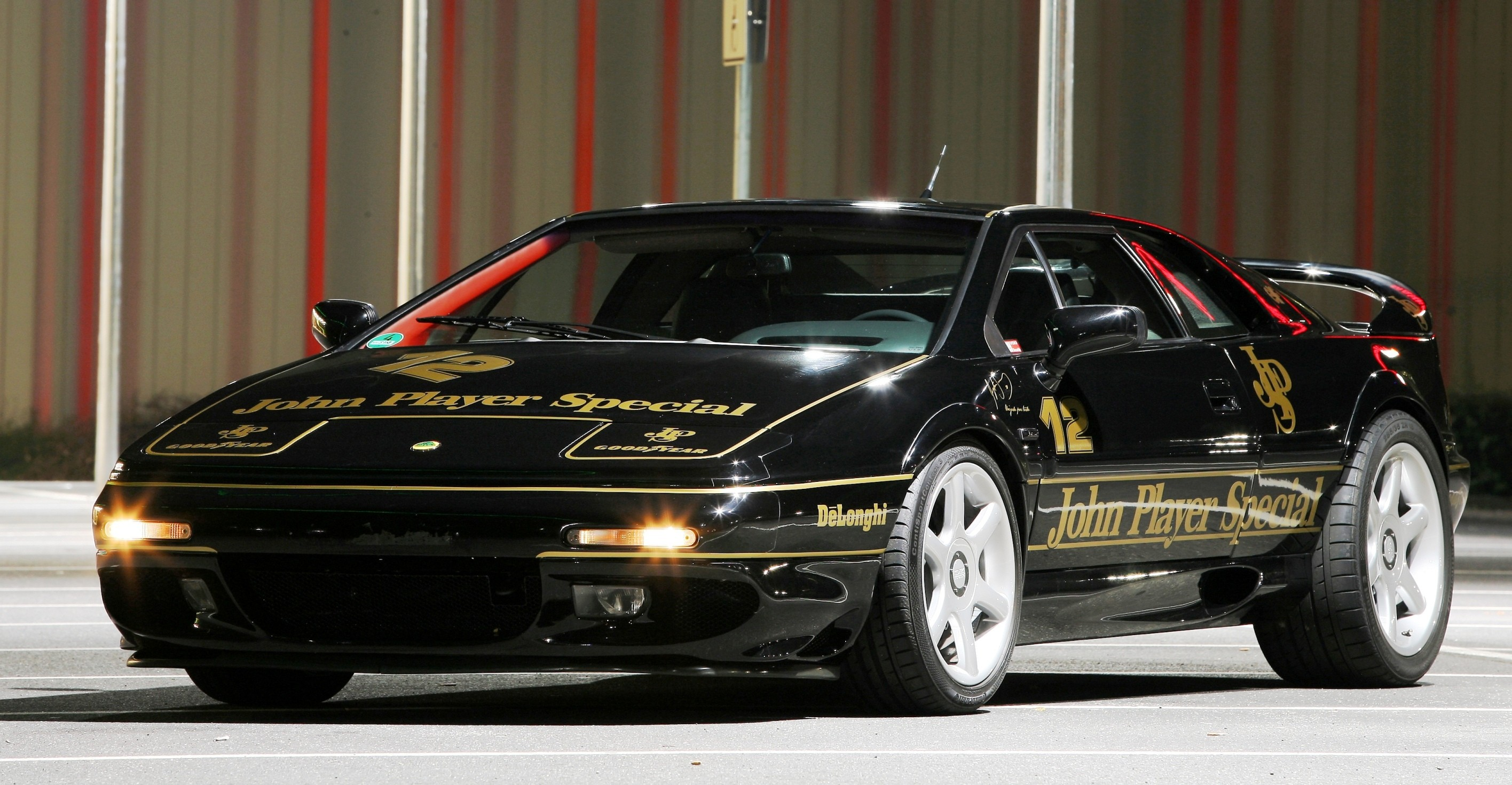 supercar racing wrap lotus esprit in ayrton senna jps livery by camshaft. Black Bedroom Furniture Sets. Home Design Ideas