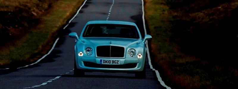 Loving the Bentley Mulsanne - Mega Galleries 94