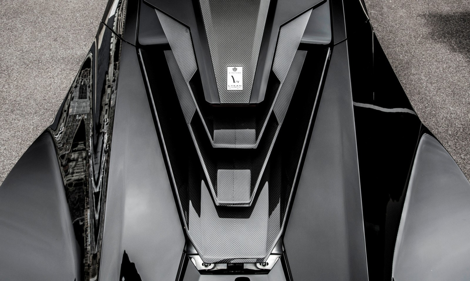 Lykan HyperSport Top View Carbon fiber blades