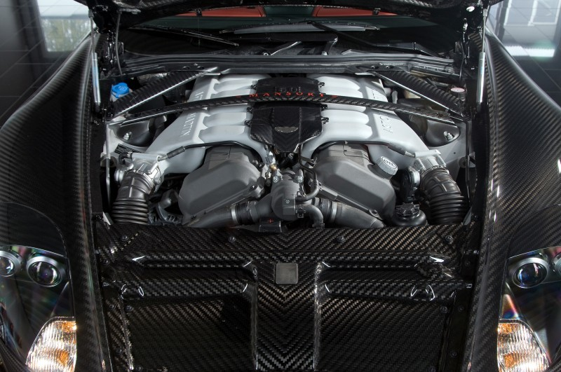 MANSORY Cyrus is Fascinating Carbon Widebody for Aston Martin DB9 and DBS 13