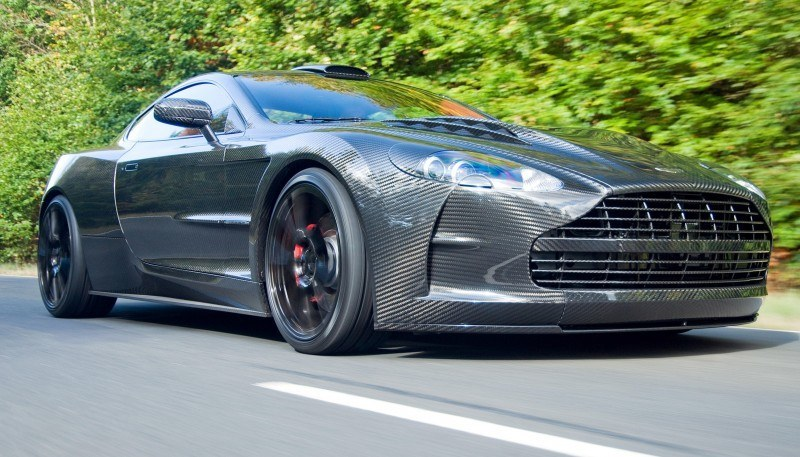 MANSORY Cyrus is Fascinating Carbon Widebody for Aston Martin DB9 and DBS 17