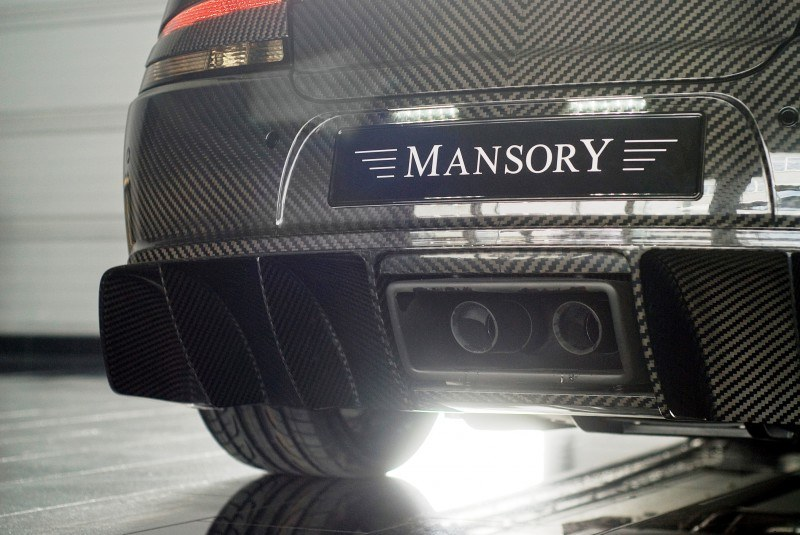 MANSORY Cyrus is Fascinating Carbon Widebody for Aston Martin DB9 and DBS 19