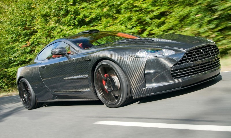MANSORY Cyrus is Fascinating Carbon Widebody for Aston Martin DB9 and DBS 25