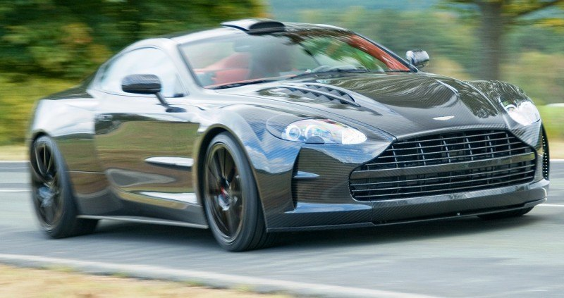 MANSORY Cyrus is Fascinating Carbon Widebody for Aston Martin DB9 and DBS 26