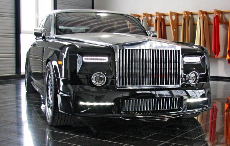 MANSORY Rolls-Royce Phantom Limo and Phantom Drophead Coupe Are 7.5L, V12TT Purebreds 1