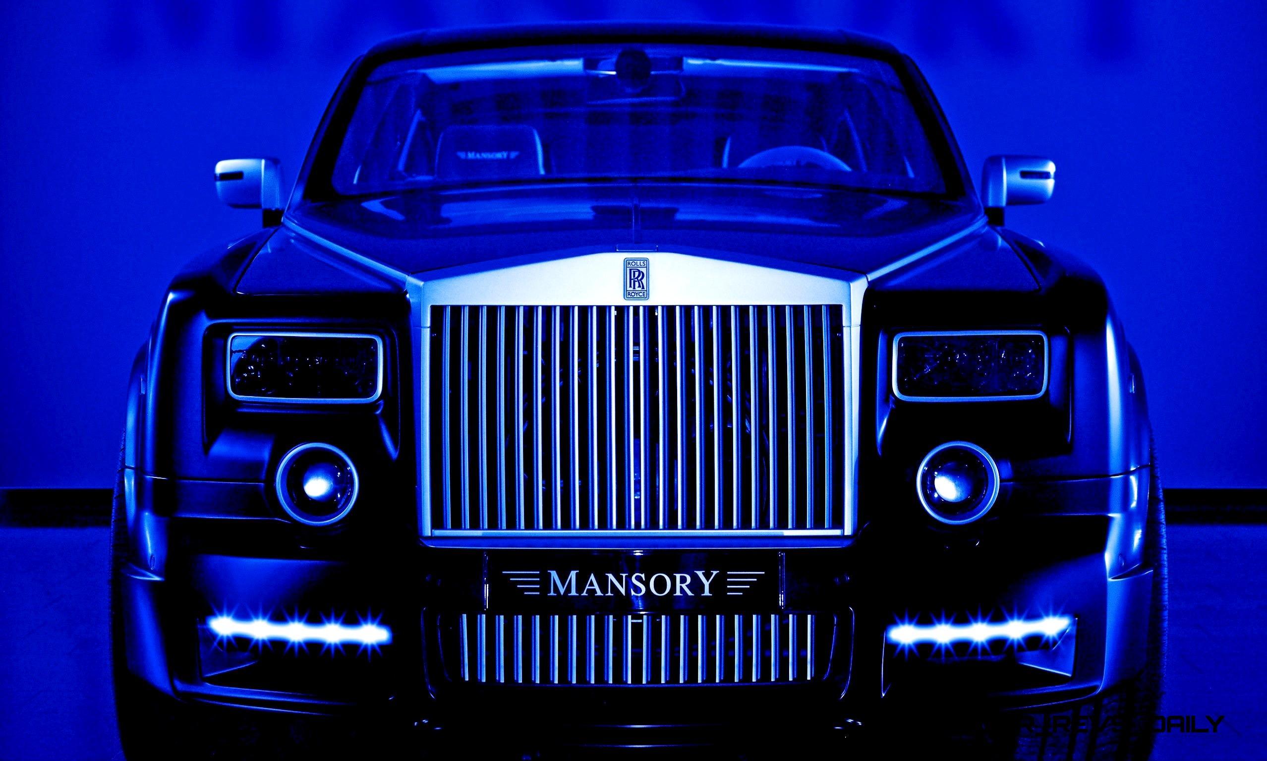 Rolls Royce Limo >> MANSORY Rolls-Royce Phantom Limo and Phantom Drophead ...