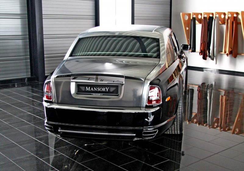 MANSORY Rolls-Royce Phantom Limo and Phantom Drophead Coupe Are 7.5L, V12TT Purebreds 28