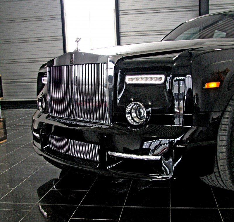MANSORY Rolls-Royce Phantom Limo and Phantom Drophead Coupe Are 7.5L, V12TT Purebreds 32