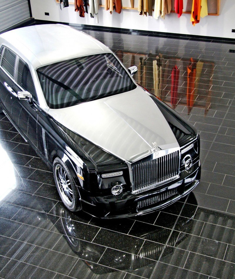 MANSORY Rolls-Royce Phantom Limo and Phantom Drophead Coupe Are 7.5L, V12TT Purebreds 36