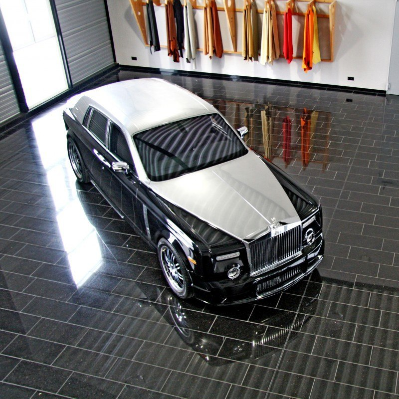 MANSORY Rolls-Royce Phantom Limo and Phantom Drophead Coupe Are 7.5L, V12TT Purebreds 38