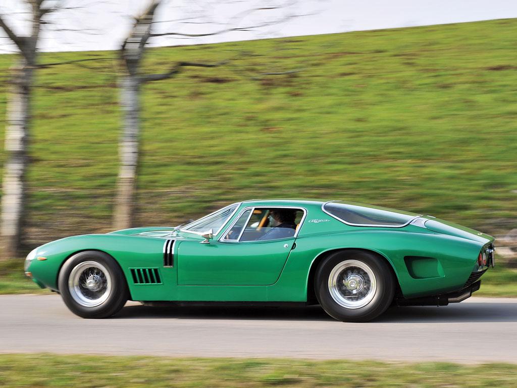 Iconic Classic Supercars 1965 Bizzarrini Strada Alloy
