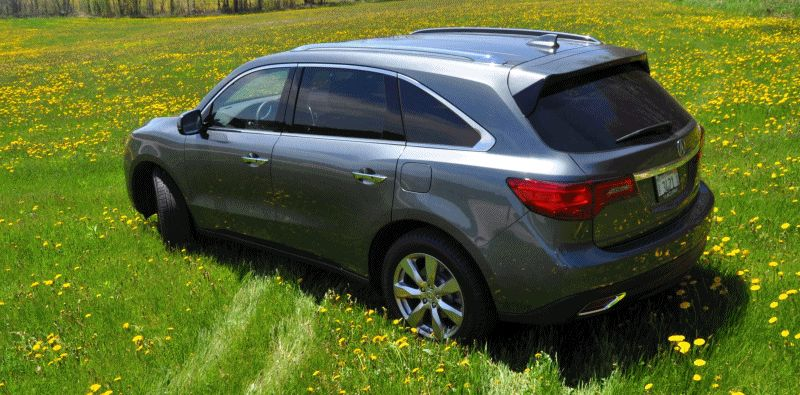 MDX 2014 Acura road test review gif 2