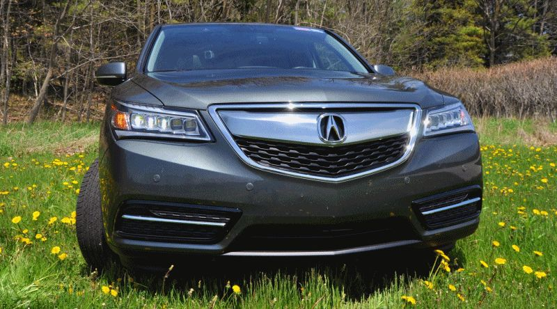 MDX 2014 Acura road test review gif