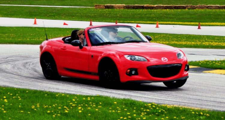 MX5 Club track test gif