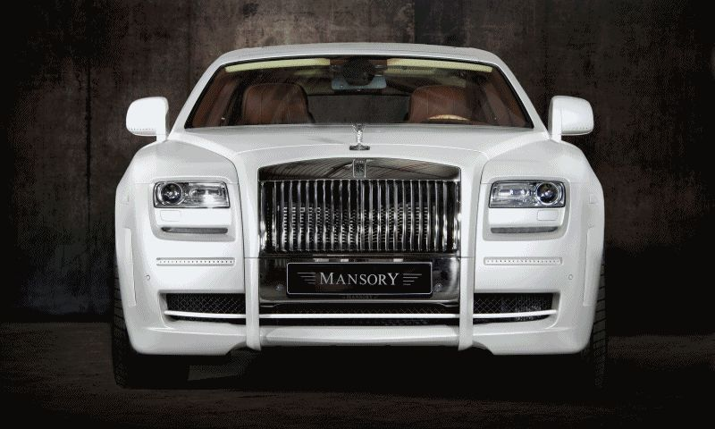 Mansory rolls royce ghosts gif