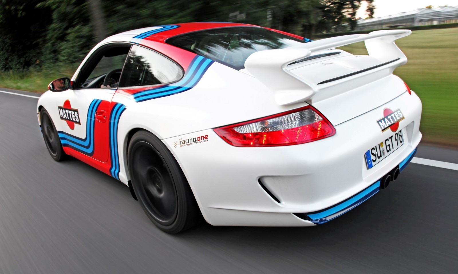 Martini-style Racing Livery by CAM SHAFT for the Porsche 911 GT3 11