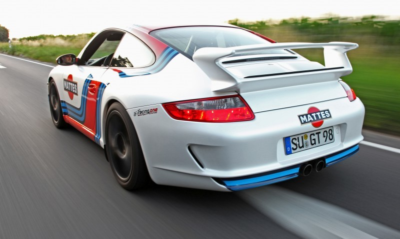 Martini-style Racing Livery by CAM SHAFT for the Porsche 911 GT3 13