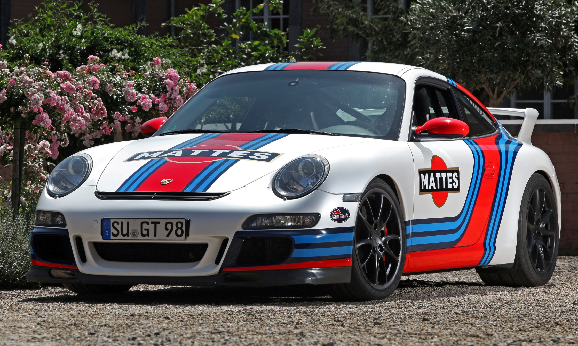Germany Is Mad For Car Wraps Martini Style Racing Livery By Cam