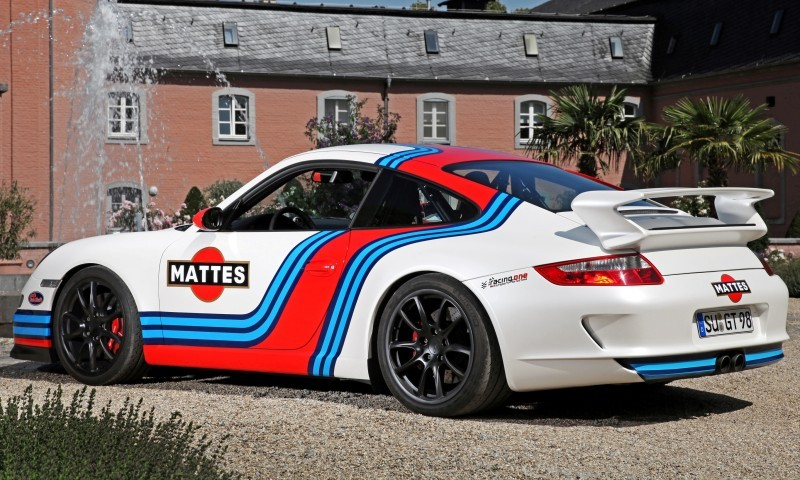 Martini-style Racing Livery by CAM SHAFT for the Porsche 911 GT3 20