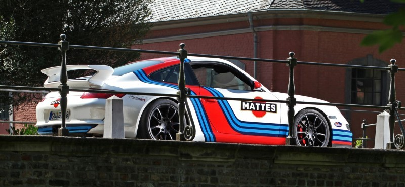 Martini-style Racing Livery by CAM SHAFT for the Porsche 911 GT3 7