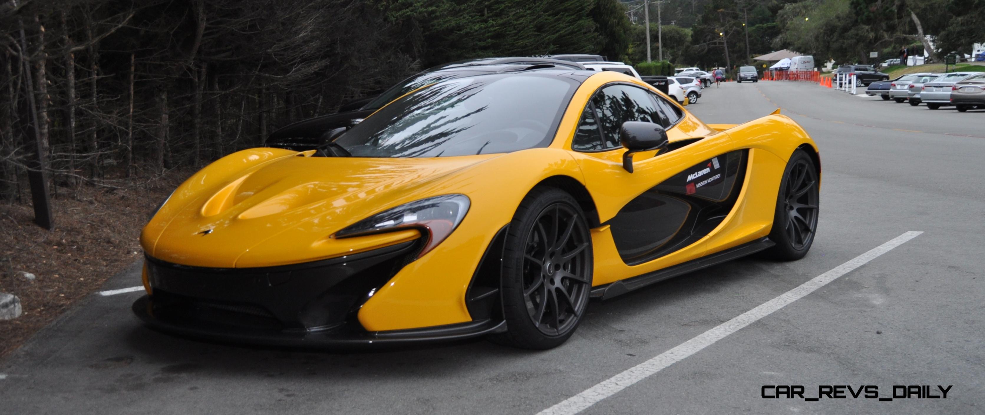 McLaren P1 Mission Monterey is Million Dollar Overnight Hypercar