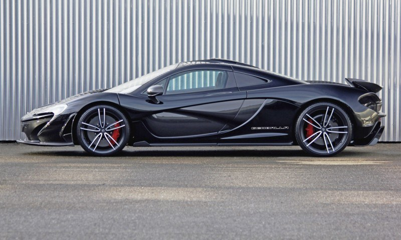 McLaren P1 on GEMBALLA GForged-one Wheels Specially Designed for McLaren 12C, 650S and P1 5