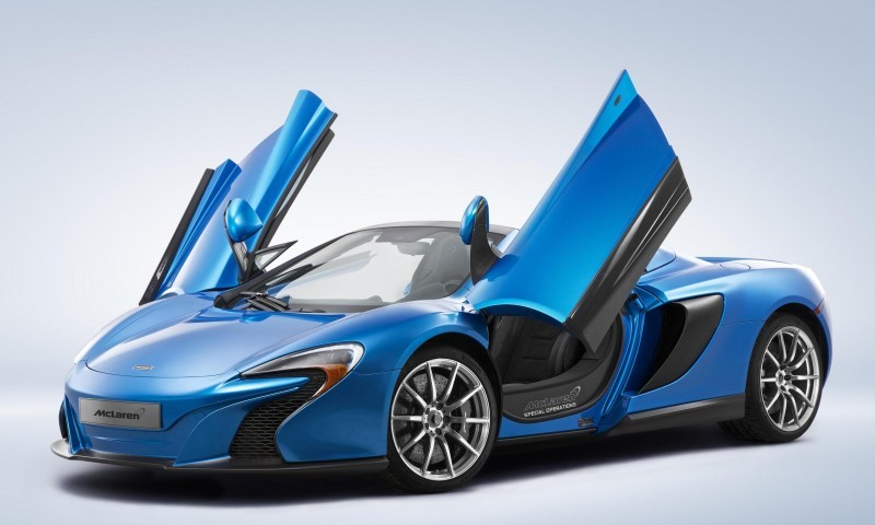 McLaren Special Operations Confirms Pebble Beach Debut of MSO 650S Spider and MSO P1 2
