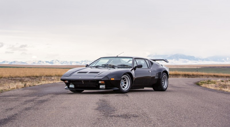 Mecum Kissimmee 2016 Preview 1987 DETOMASO PANTERA GT5-S  19