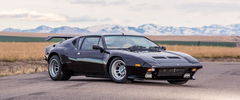 Mecum Kissimmee 2016 Preview 1987 DETOMASO PANTERA GT5-S  20