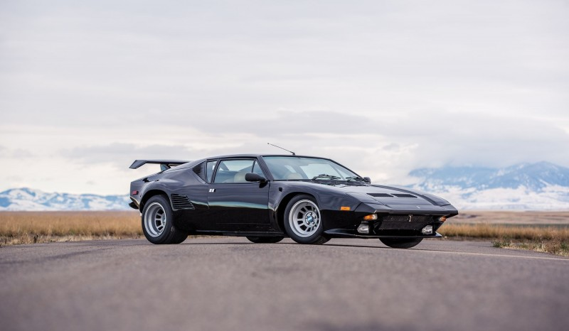 Mecum Kissimmee 2016 Preview 1987 DETOMASO PANTERA GT5-S  21